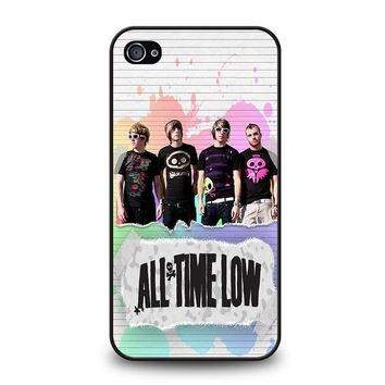ALL TIME LOW PERSONIL BAND iPhone 4 / 4S Case Cover