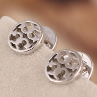 Tory Burch Fashion new fashion metal personality earring Silver