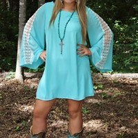 Honky Tonk Angel in Light Blue
