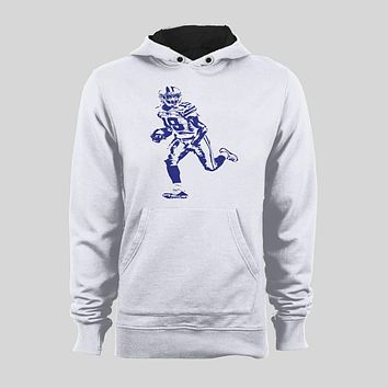 AMARI COOPER #19 OLDSKOOL CUSTOM ART DALLAS FOOTBALL HOODIE /SWEATER