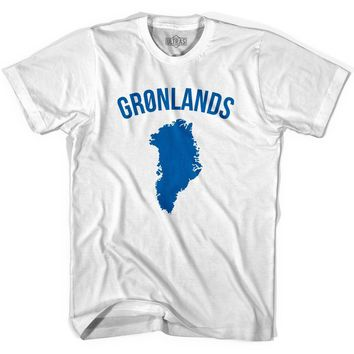 Ultras Greenland Gronland Country Soccer T-shirt