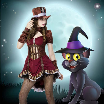 Cosplay Anime Cosplay Apparel Holloween Costume [9220290564]