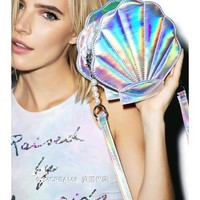 Mermaid Dream Holographic Handbag