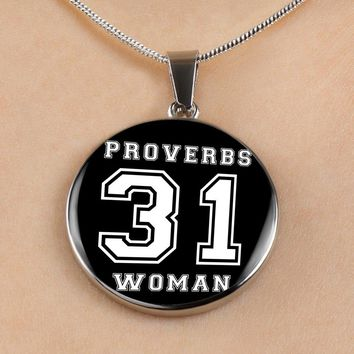 Proverbs 31 Woman - Luxury Christian Necklace