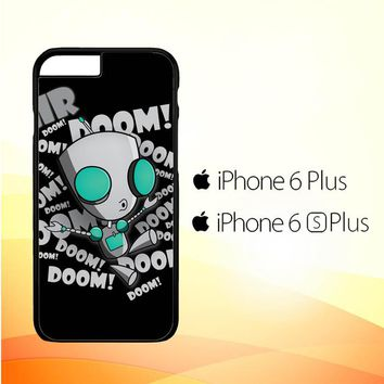invader zim gir doom song Z0621 iPhone 6 Plus|6S Plus Case