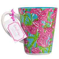 Lilly Pulitzer Cafe Lily Mug - Fan Dance - Accessories - Dwellings