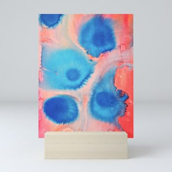 Sea Urchins & Coral Mini Art Print by duckyb
