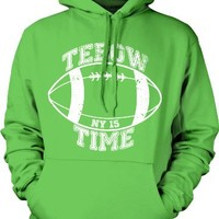 Tebow Time Mens Sweatshirt, Tim Tebow NY Football Pullover Hoodie