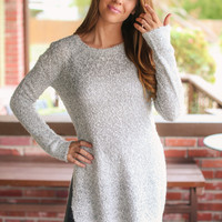 Great Plains Sweater Tunic - Grey