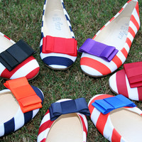 Game Day Shoes Bow Flats