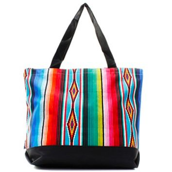 Serape Tote with Pouch