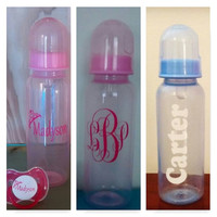 Baby Bottle Decal (set of 4 decals)