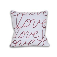 Love Script Pillow