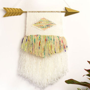 Handwoven Wall Hanging - Woven Wall Hanging - Weaving - Wall Art - Tapestry - Wall Decor - Home Decor - Nursery Decor - Bohemian Decor