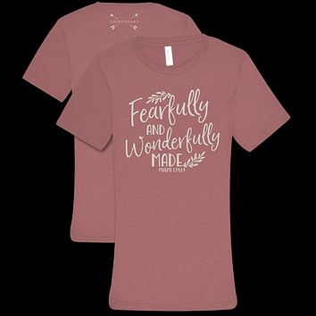 Southern Couture Lightheart Fearfully & Wonderfully Faith T-Shirt
