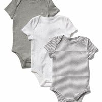 Favorite short sleeve bodysuit (3-pack) | Gap