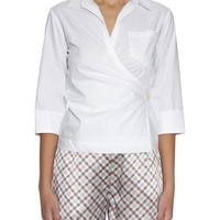 Cotton-poplin wrap-around shirt | Nina Ricci | MATCHESFASHION.COM US