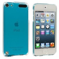 Clear Transparent Crystal Hard Skin Case Cover for Apple iPod Touch 5th Generation 5G 5 (LEOI9)