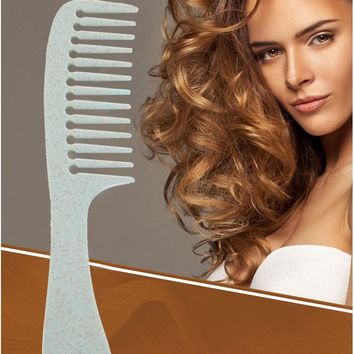 Anti-static teeth combs home hair hair curls hair long hair special wide-tooth comb plastic massage comb