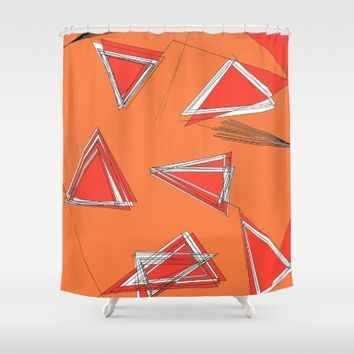 UNdone Shower Curtain by Ducky B
