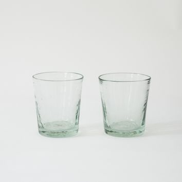 recycled glass tumbler | Folklore