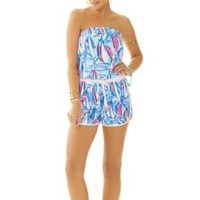 Dixon Strapless Romper - Lilly Pulitzer