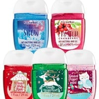 5-Pack PocketBac Sanitizers Holiday Magic