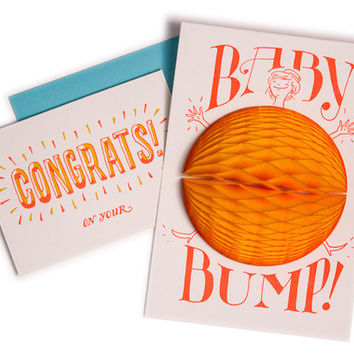 Baby Bump Surprise! Card