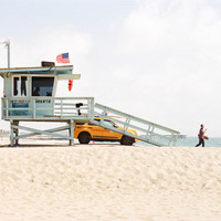 Nature Photos Product Images ~ lifeguard statio… ~ Creative Market
