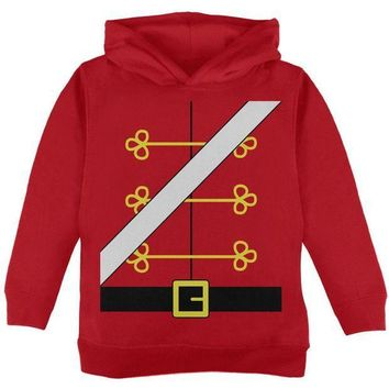 PEAPGQ9 Christmas Toy Soldier Nutcracker Costume Toddler Hoodie