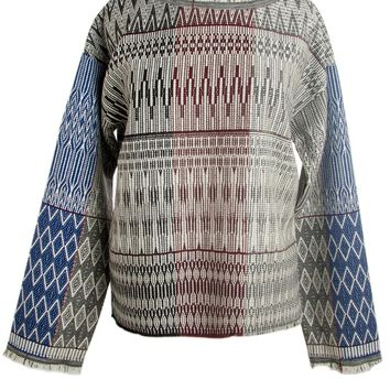 Giada Forte Printed Long Sleeve Top