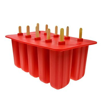Food Grade Silicone Popsicle Molder