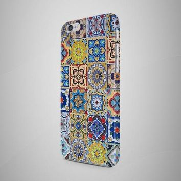 Portugal Tiles Morocco iPhone X Case iPhone 7 Plus