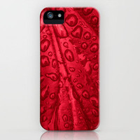 red passion I iPhone Case by blackpool | Society6