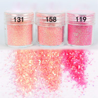 1Box 10ml Pink Shining Nail Glitter Powder Nail Art Dust Tips Nail Art Decoration for nail polish M02113