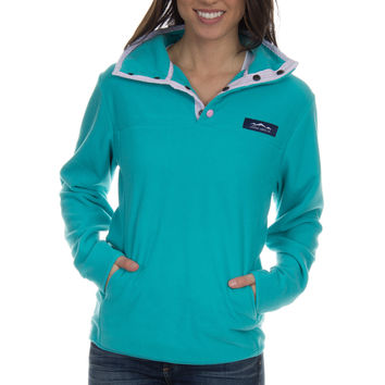Lauren James Blakely Pullover- Lagoon