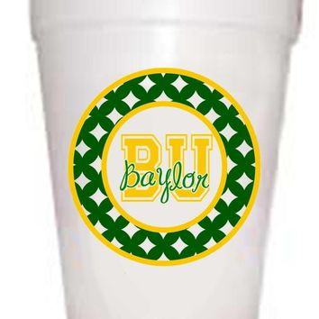 Baylor University Styrofoam Cups