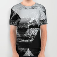 Abstract Sea All Over Print Shirt by Cafelab