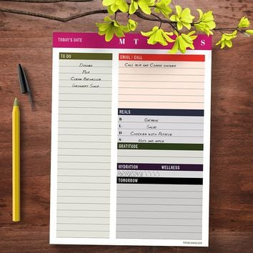 Daily Bold Task Pad - BOLD MOVES COLLECTION