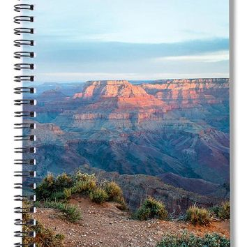 Grand Canyon Morning - Spiral Notebook