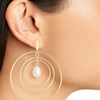 Tory Burch Multihoop Pearl Earrings | Nordstrom