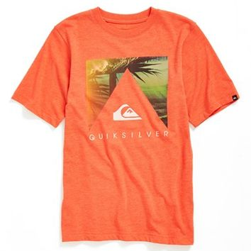 Boy's Quiksilver 'Vanishing Point' Graphic T-Shirt,