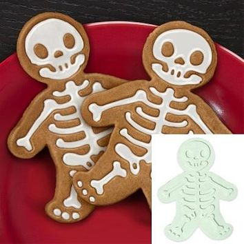 Skull stamp sugar cookie cutters cookie mold kitchen tools Press-on biscuit maker