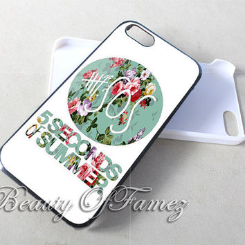 SOS 5 Second of Summer for iPhone 4, iPhone 4s, iPhone 5, iPhone 5s, iPhone 5c Samsung Galaxy S3, Samsung Galaxy S4 Case