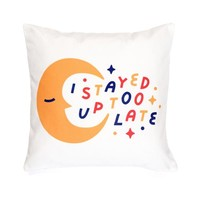 Up Too Late Pillow