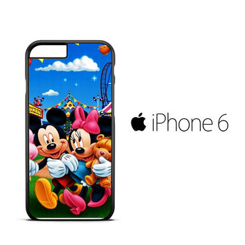 mickey mouse wallpaper Y0327 iPhone 6 Case