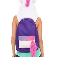 Unicorn Hooded Backpack | Hot Topic