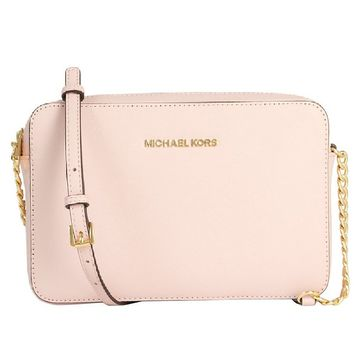 MICHAEL Michael Kors Women's Jet Set Cross Body Bag, Blossom, One Size