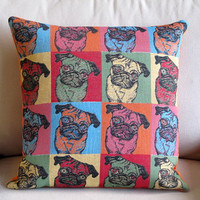 PUGS So Cute pillow by yiayias on Etsy