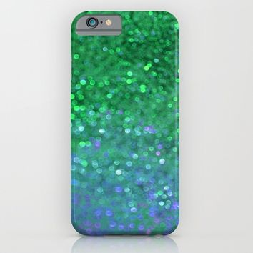 Sea Nymph Sparkle iPhone & iPod Case by ALLY COXON